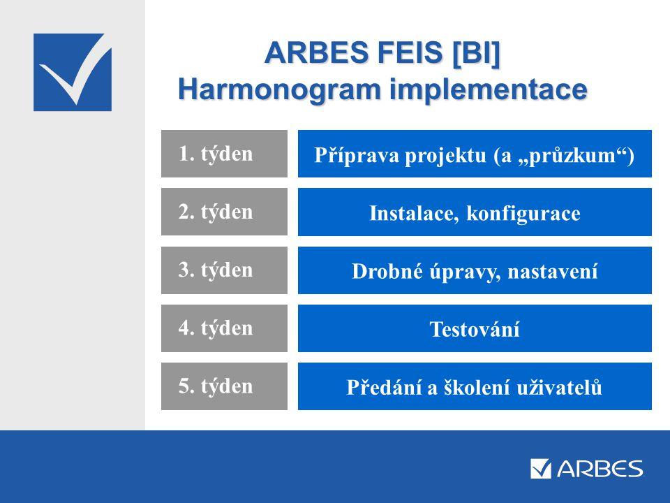 ARBES FEIS [BI] Harmonogram implementace